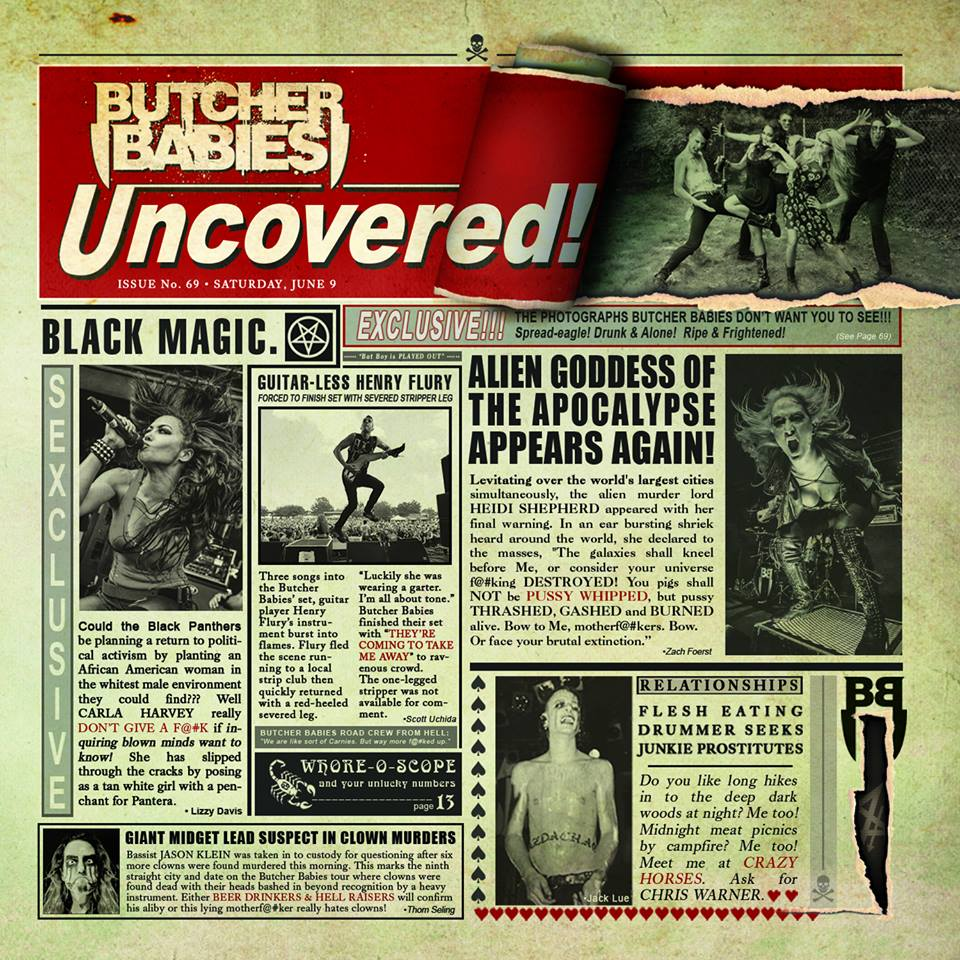 "Butcher Babies - ""Uncovered"""