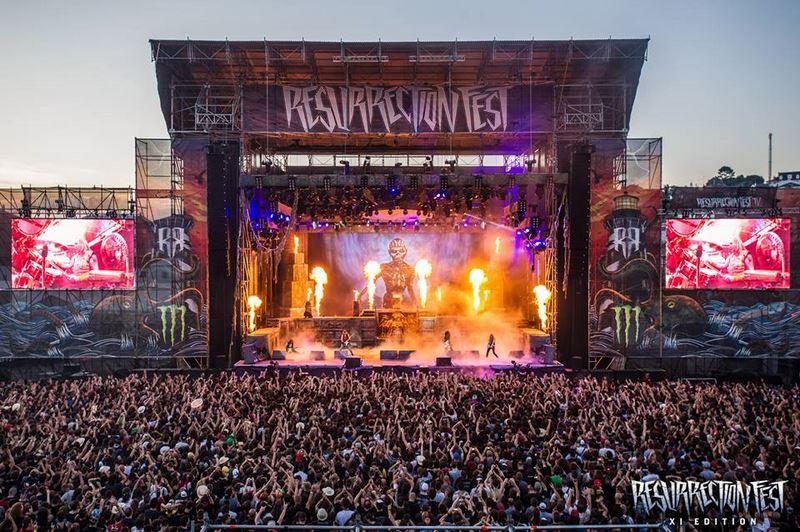 Resurrection Fest 2016 - Día 3 (09-07-16)