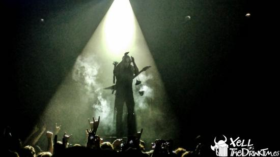 Behemoth + Secrets of the Moon + Mgła, Barcelona (27-10-16)