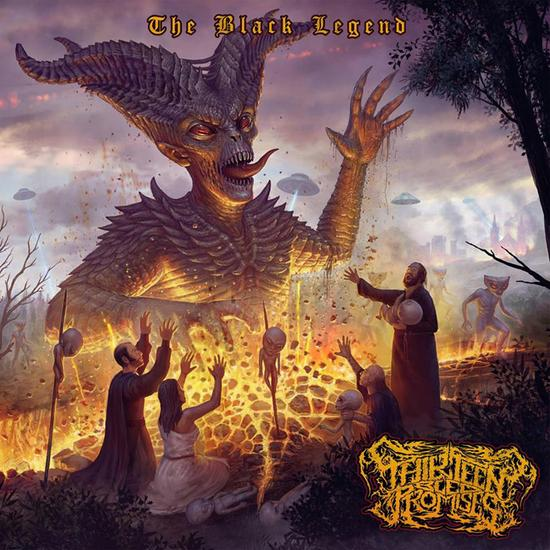 "Disco de la Semana: Thirteen Bled Promises - ""The Black Legend"""